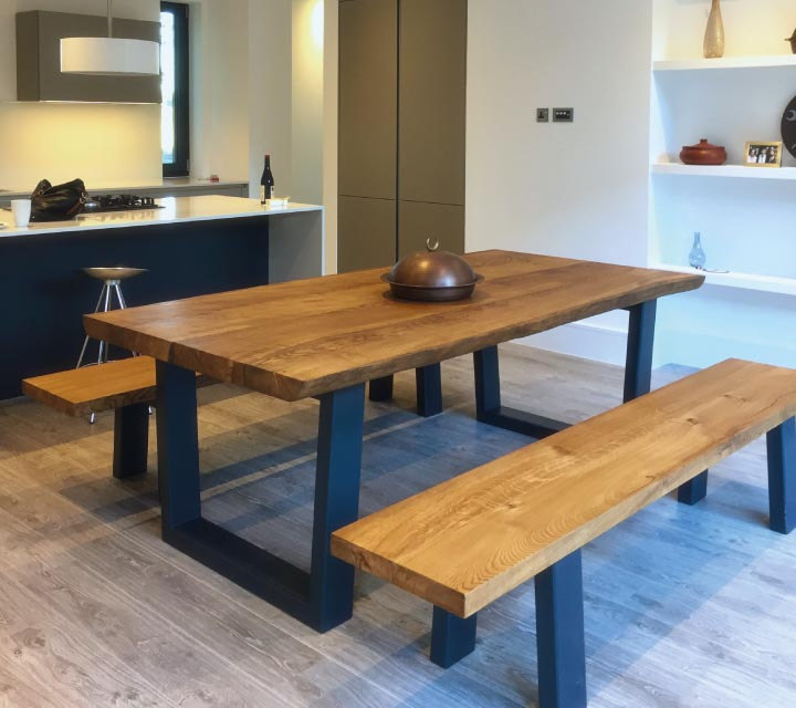 Dining Tables Benches: Modern Wooden Dining Table Sets