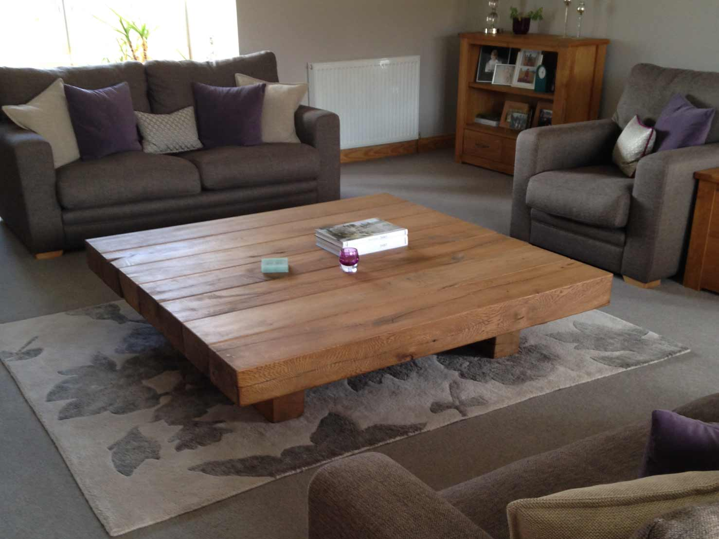 Large low coffee table abacus tables for Large coffee table