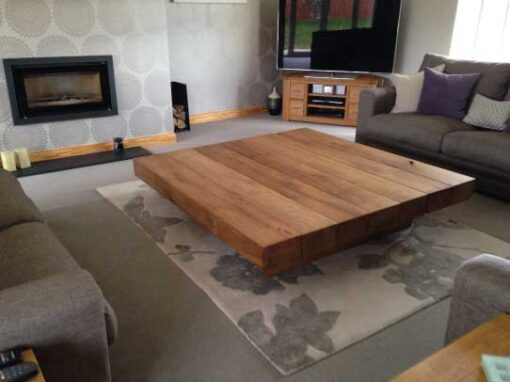 Large coffee tables made in the uk abacus tables for Large wood coffee table