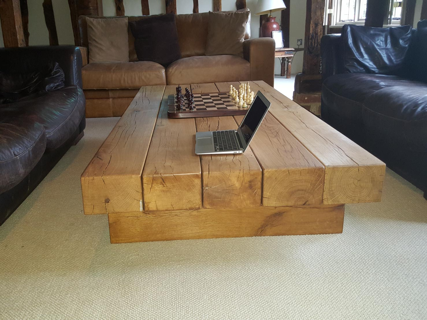 rustic-coffee-table-from-abacus-tables-arabica-2m-x-1.1m-oak-beam-project-334