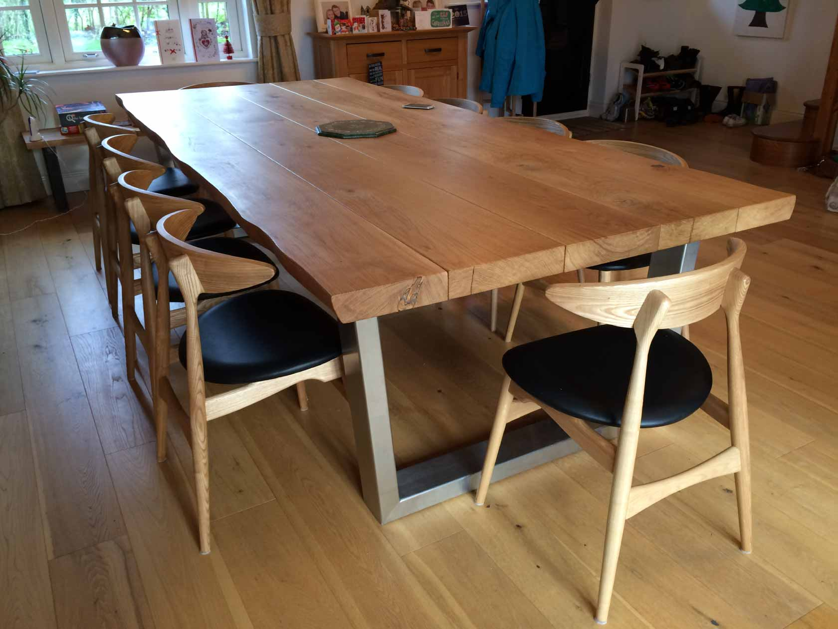 Rustic Dining Table From Abacus Tables 3m X