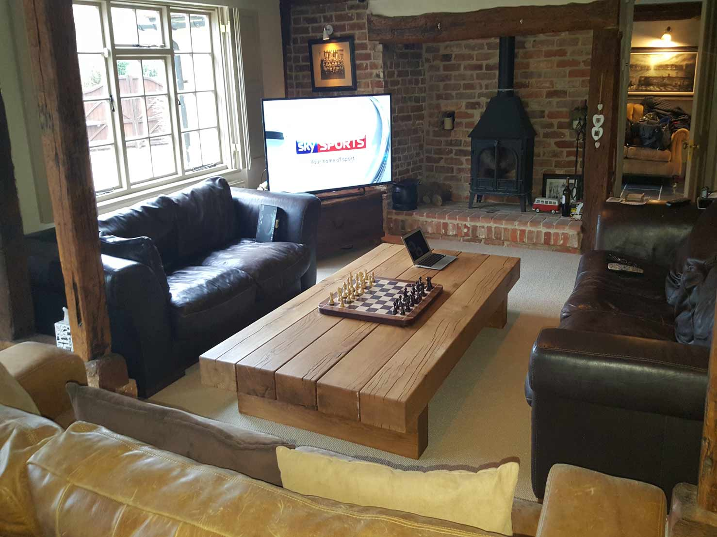 rustic-oak-beam-coffee-table-from-abacus-tables-arabica-2m-x-1.1m--project-334