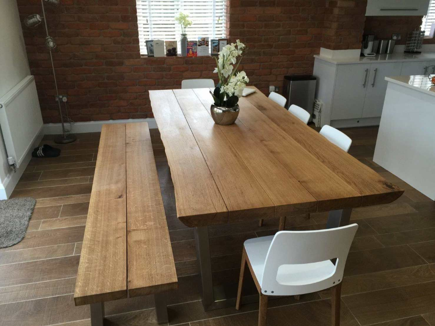 oak-dining-table-sets-from-abacus-tables-komodo-2.4m-matching-chairs-&-bench-project-341