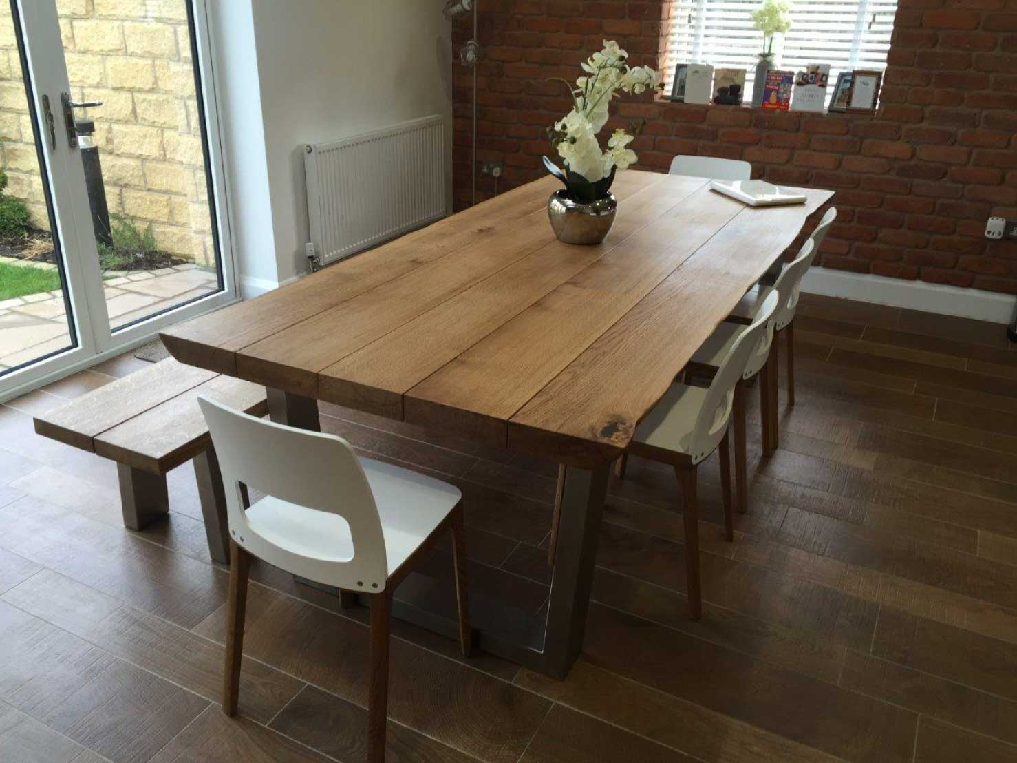 wood-dining-table-set-from-abacus-tables-komodo-2.4m-matching-chairs-&-bench-project-341
