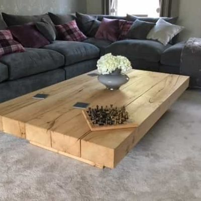 Chunky Coffee Table Project#470