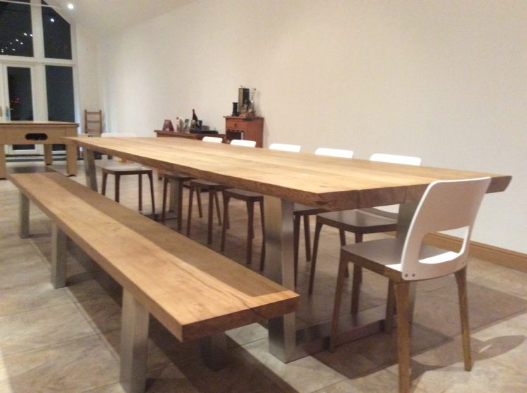 Large dining table table and chairs project 454 abacus tables image 1