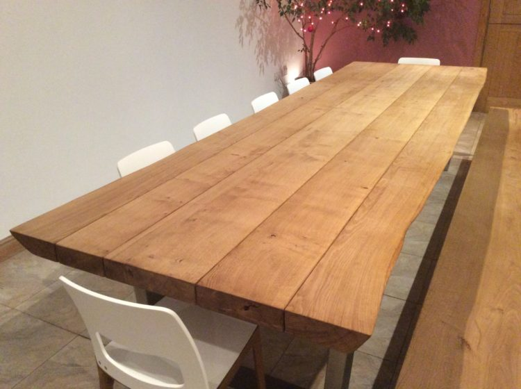 Large dining table table and chairs project 454 abacus tables image 2