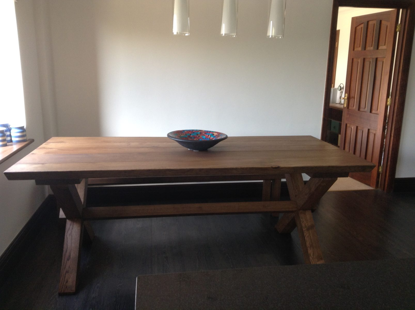 Bespoke Farmhouse Dining table project 509 Abacus Tables image 1