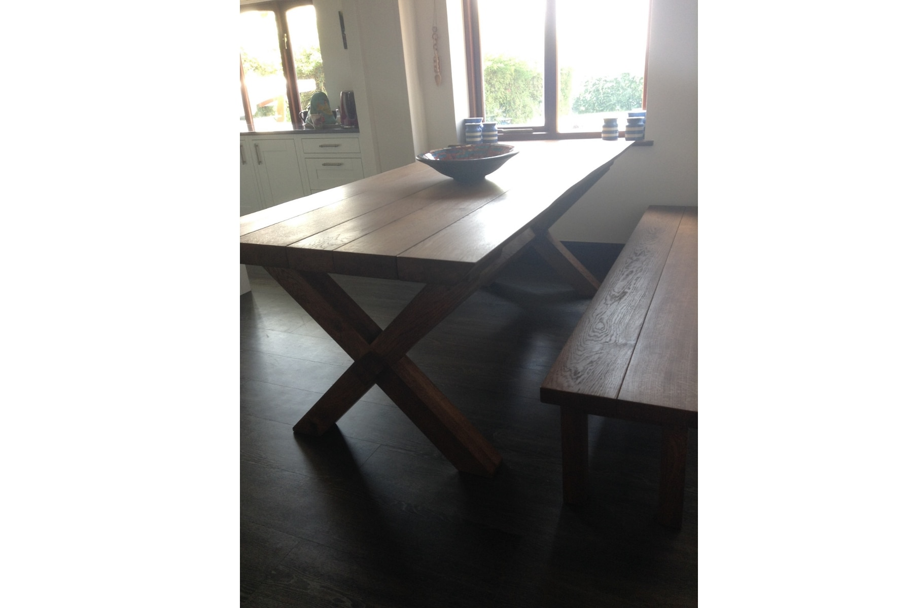 Bespoke Farmhouse Dining table project 509 Abacus Tables image 2