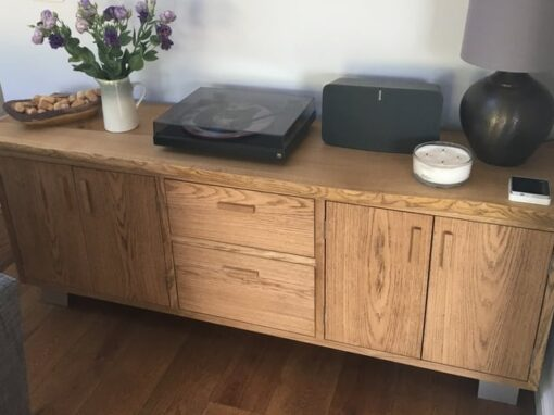 Oak Sideboard Project#533
