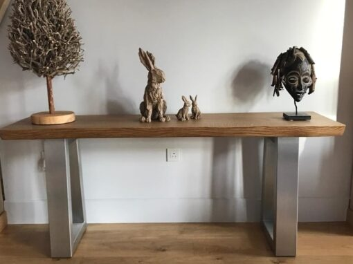 Oak Console Table Project#614