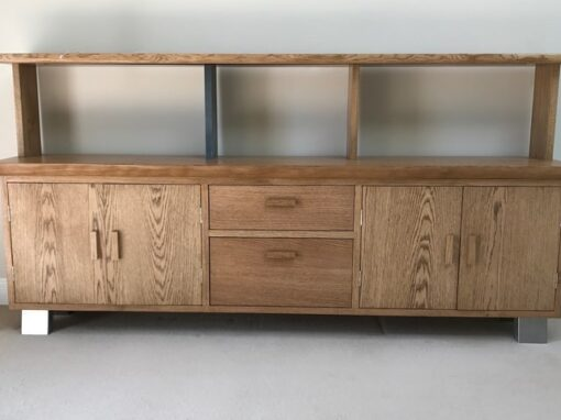 Oak sideboard Project#500