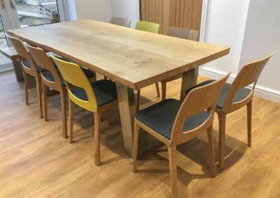 Large Oak Dining PROJECT #709
