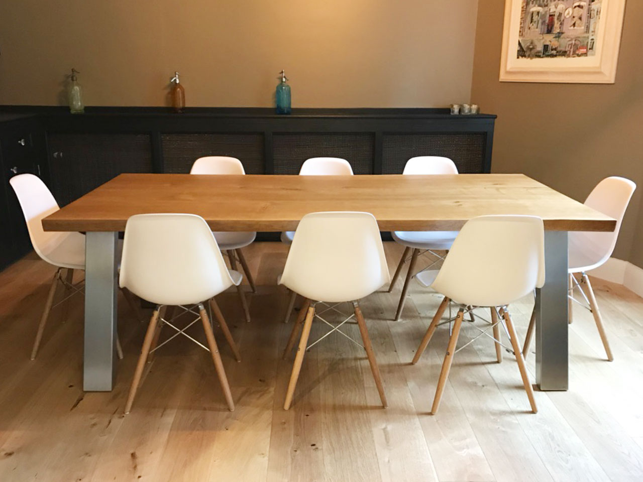 Bespoke Oak Table by Abacus Tables