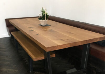 Large Oak Dining PROJECT#726
