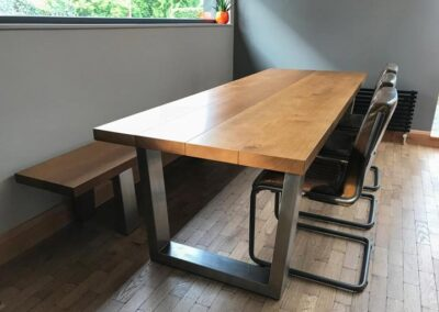 Large Oak Dining PROJECT#677