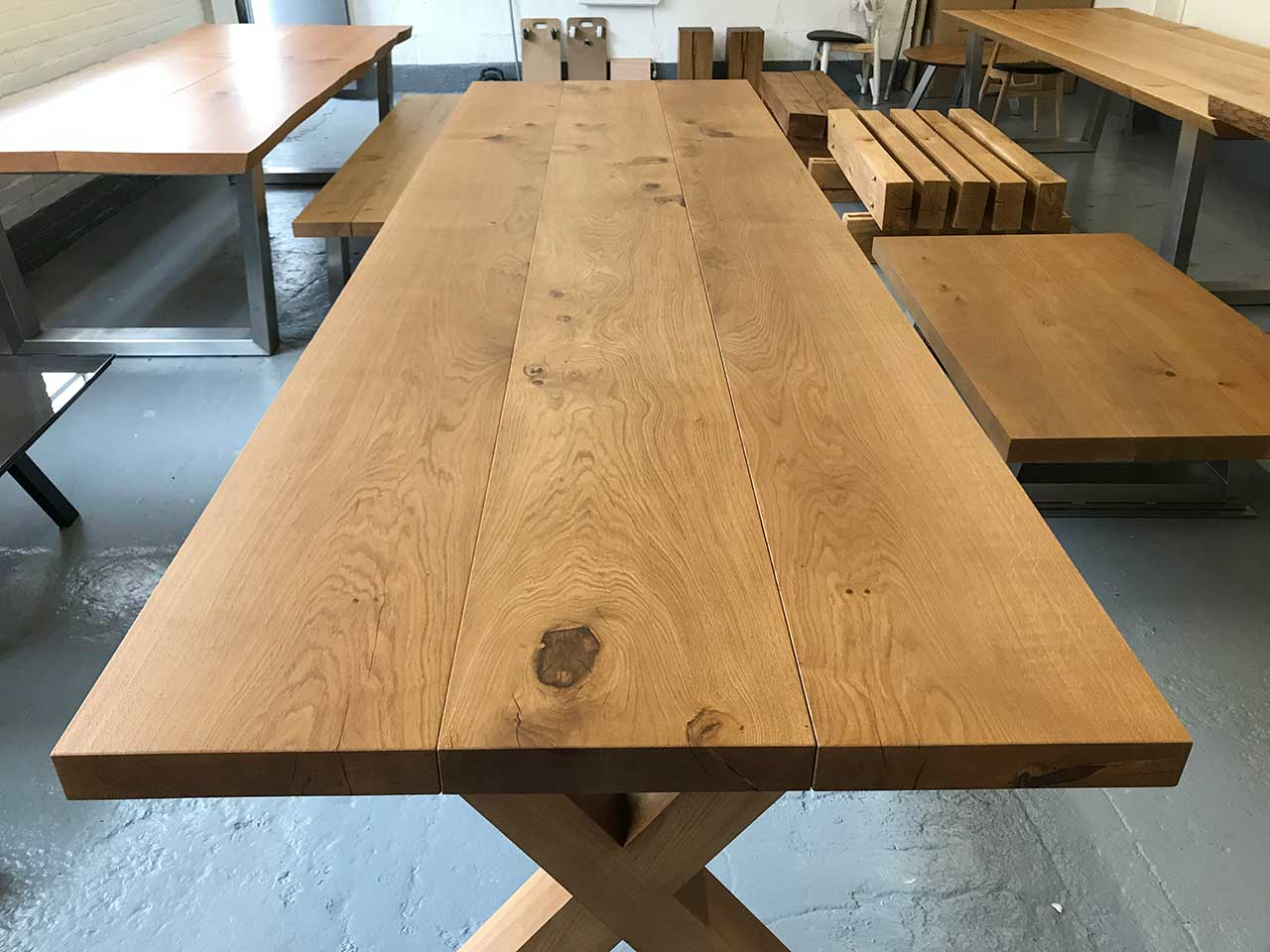 Bespoke Farmhouse Dining Table-Abacus-Tables