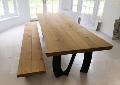Live Edge Dining Table Project#776