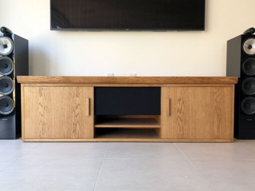 Oak TV Stands Project#734
