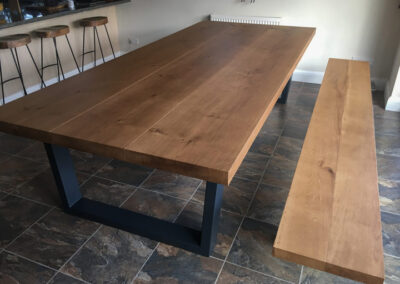 Industrial Dining Table Project#722