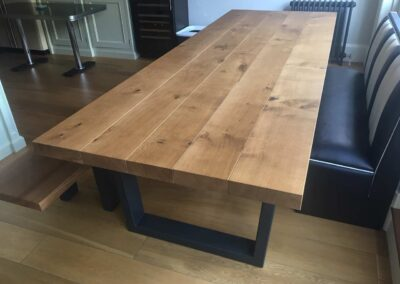 Industrial Dining Table Project#757