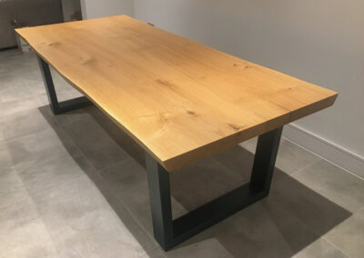 Live Edge Dining Table Project#869