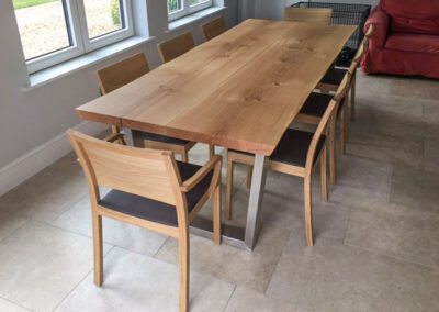 Live Edge Dining Table Project #807