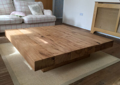 Chunky Coffee Table Project#901