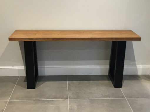 Oak Console Table Project #837